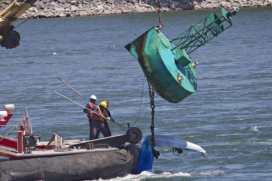 Suzanne Grant a sombré sous la surface lorsque... (Photo: Patrick Sanfaçon, La Presse)