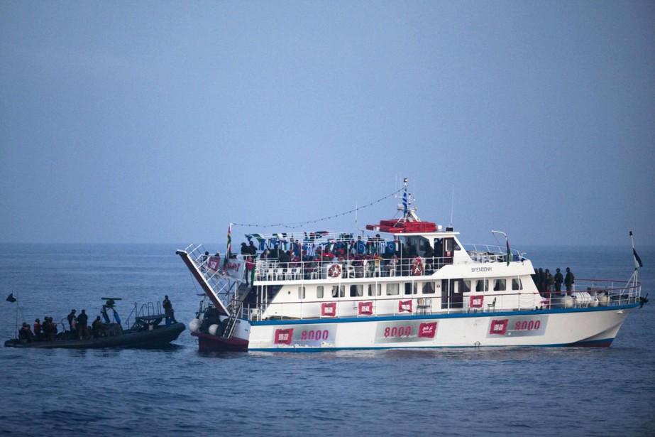 La Grèce a interdit vendredi tout départ de bateau de ses ports à... (Photo: AFP)