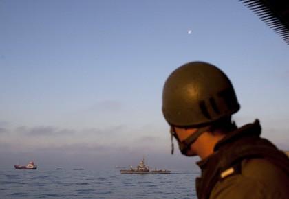 L'opération, qualifiée d'acte de «piraterie» par les Palestiniens,... (Photo: Reuters)