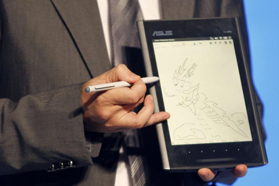 La Eee Tablet d'Asus... (Photo: Reuters)