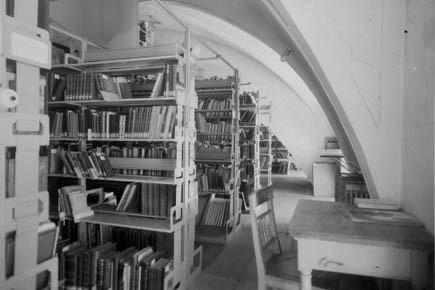 La bibliothèque nationale d'Autriche, qui comporte une collection... (Photo AFP)