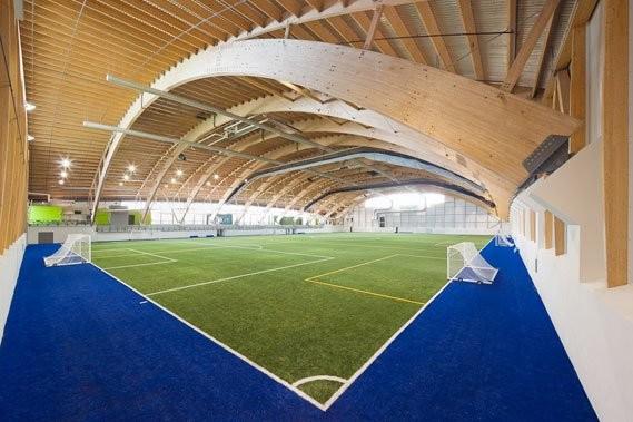 Le stade de soccer du parc Chauveau à... (Photo: Stéphane Groleau)
