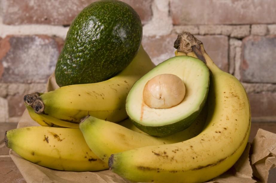 Les bananes et les avocats sont les deux... (Photo: David Boily, archives La Presse)