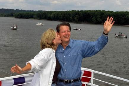 Il y a 10 ans, Al Gore avec... (Photo AFP)