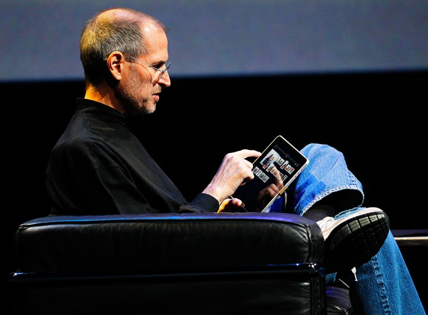 Le patron d'Apple, Steve Jobs... (Photothèque La Presse)