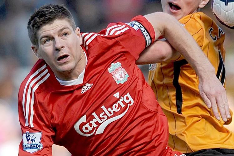 Steven Gerrard... (Photo: AP)