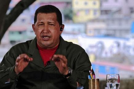 Hugo Chavez... (Photo: AFP)