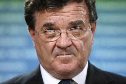 Le ministre fédéral des Finances, Jim Flaherty.... (Photo: Blair Gable, Reuters)