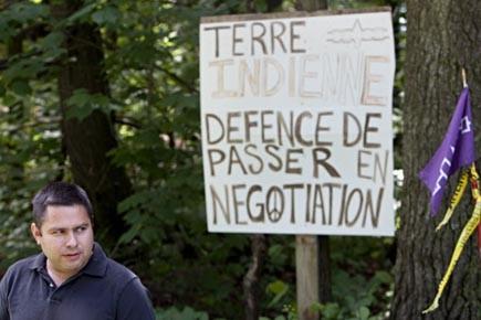 Le grand chef du conseil de bande de... (Photo: François Roy, La Presse)