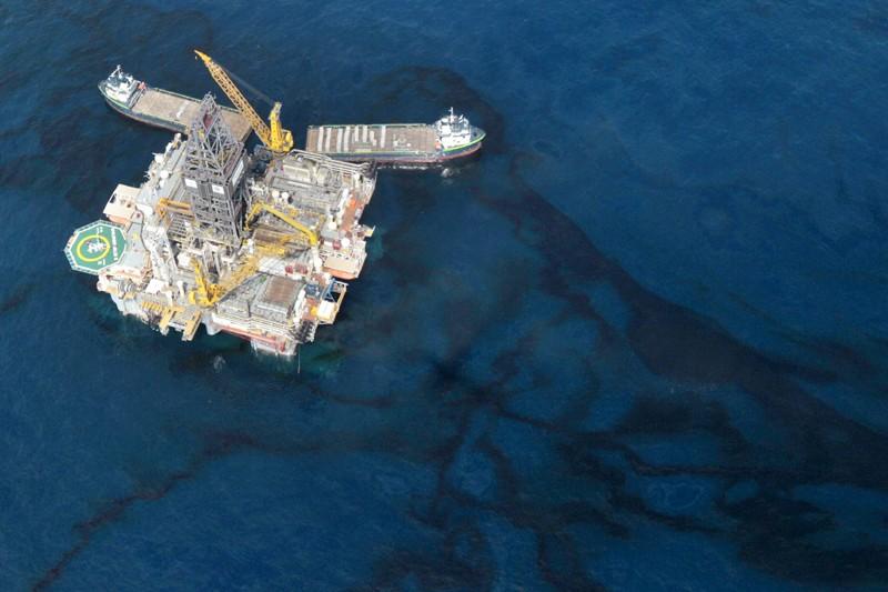 La catastrophe environnementale provoquée par la fuite de... (Photo Associated Press)