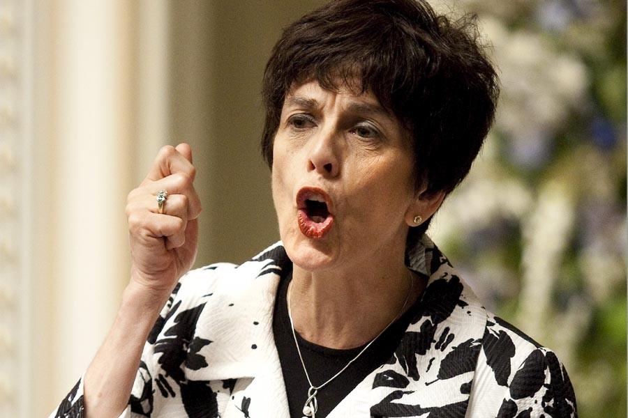 La ministre de l'Éducation, Michelle Courchesne, a défendu... (Photo: PC)