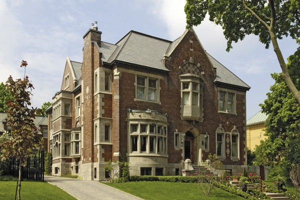 La somptueuse résidence connue sous le nom de... (Photo fournie par Denis Labine, Ville de Montréal)