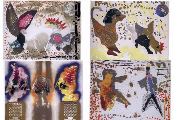 Ces lithographies font partie de quatre albums intitulés... (Photos fournies par la SQ)