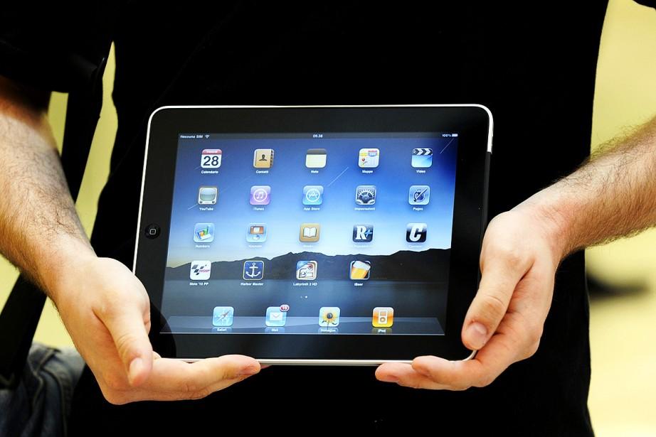 Un iPad d'Apple... (Photothèque La Presse)