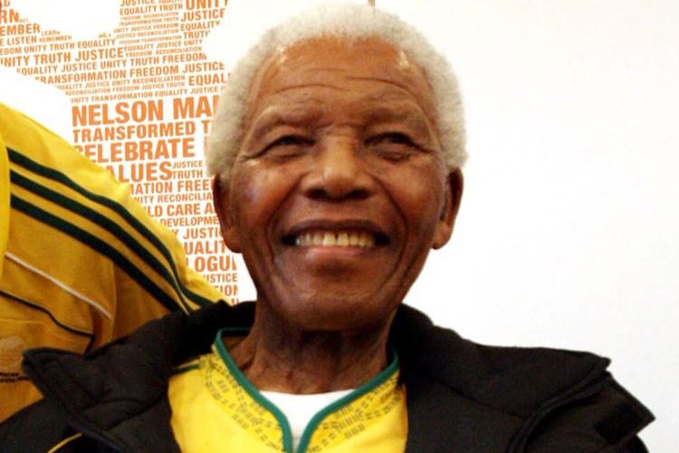 Nelson Mandela... (Photo: AFP)