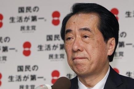 M. Kan, qui occupait les postes de vice-premier... (Photo: Shizuo Kambayashi, AP)