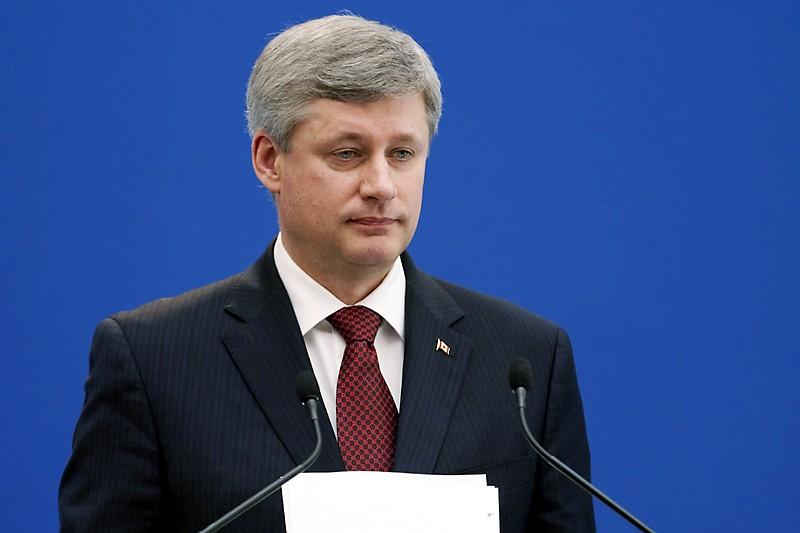 Même si M. Harper n'a pas réussi à... (Photo Canadian Press)