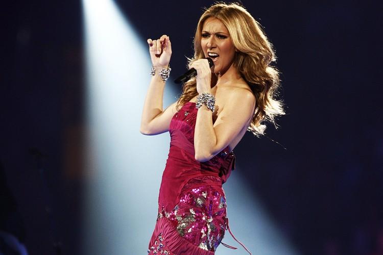 Céline Dion, enceinte de bientôt 15 semaines, ne semble pas... (Photo: AP)