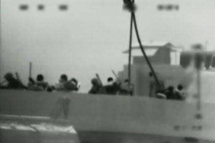 À l'issue du raid israélien sur la flottille... (Photo: Israel Defence Force, Associated press)
