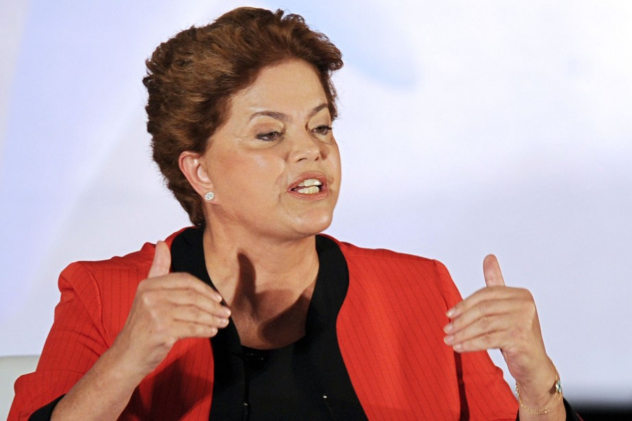Dilma Rousseff semble avoir rattrapé son retard sur... (Photo: AFP)