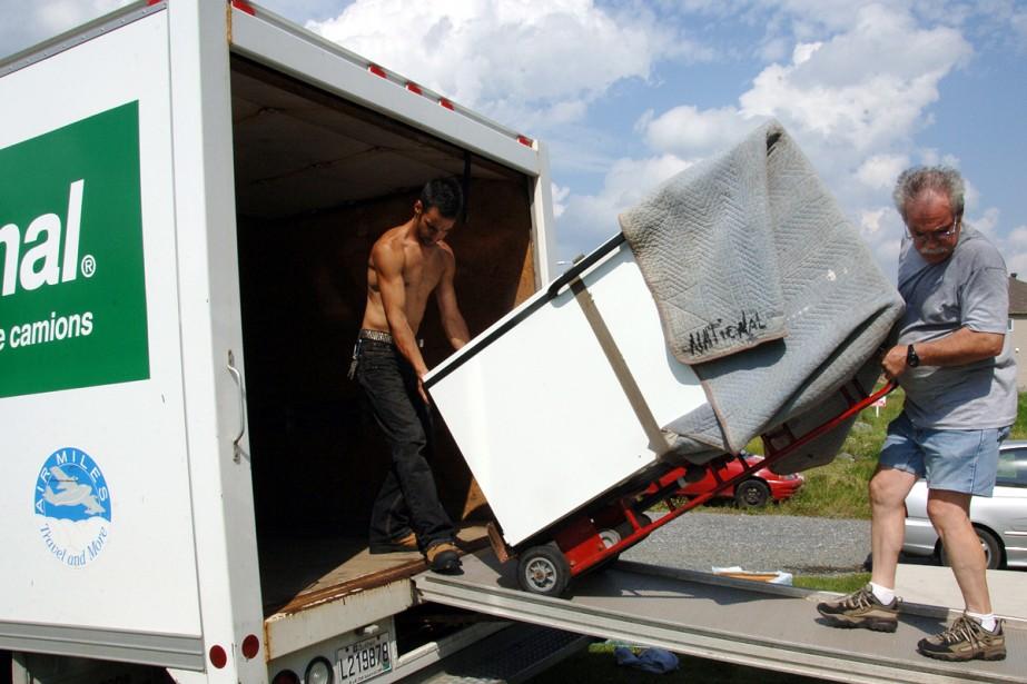 Un peu plus de 160 déménageurs professionnels se... (Photo: Archives La Presse)