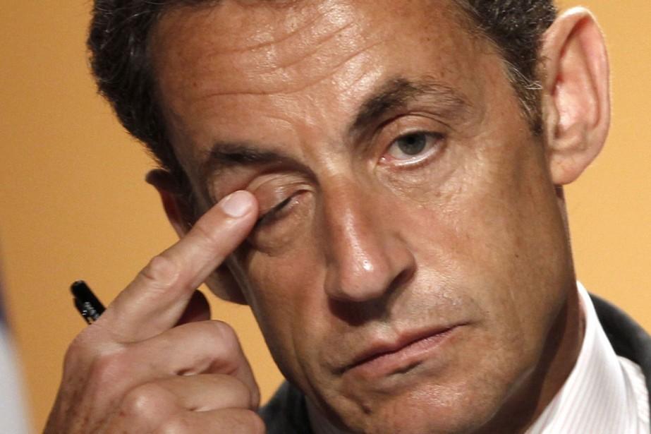 Nicolas Sarkozy a fait une croix sur la... (Photo: Reuters)