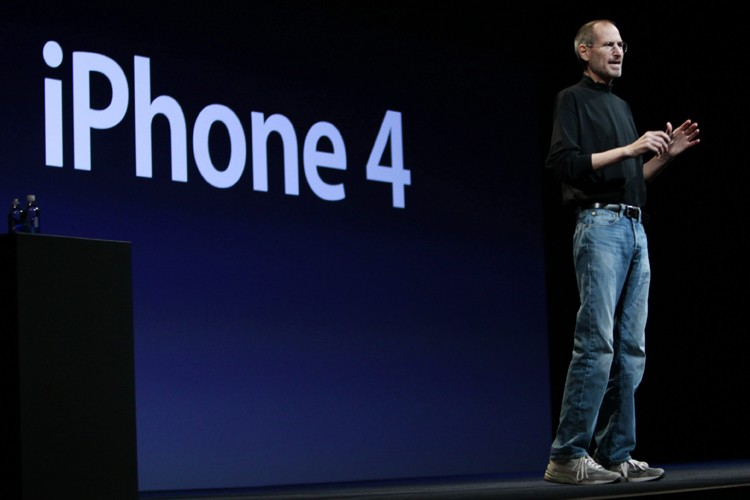 Le PDG d'Apple, Steve Jobs... (Photo: AP)