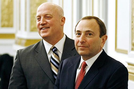 Bill Daly et Gary Bettman...