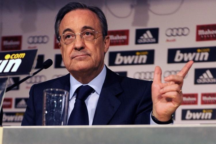 Le président du Real Madrid, Florentino Perez.... (Photo: AFP)