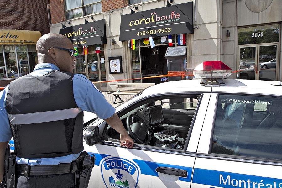 Un restaurant antillais a été la cible d'une... (Photo: Patrick Sanfaçon, La Presse)