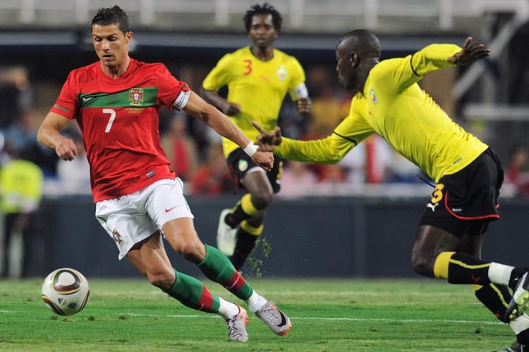 L'attaquant vedette Cristiano Ronaldo n'a pas marqué de... (Photo: AFP)