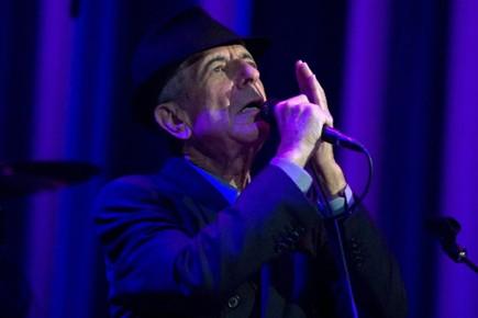 Leonard Cohen a donné en septembre son premier... (Photo: AP)