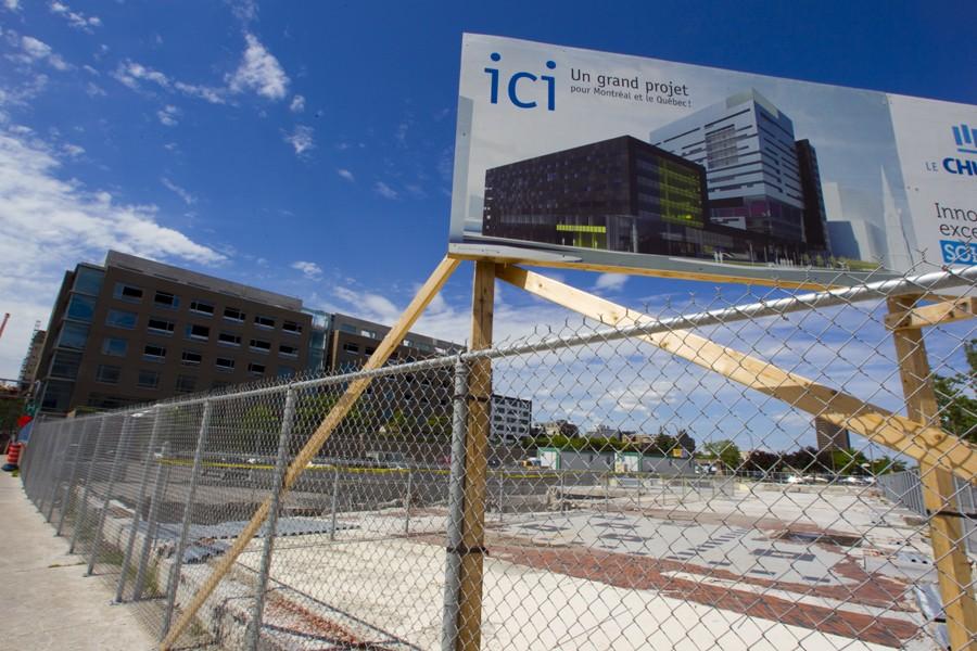 L'un des chantiers en vue de la construction... (Photo: André Pichette, La Presse)