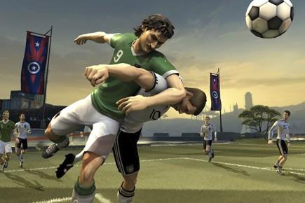 Le jeu Pure Futbol d'Ubisoft.... (Ubisoft)