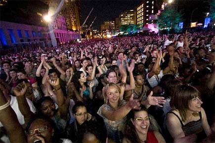 Les FrancoFolies de Montréal s'étaient notamment vu refuser,... (Photo: André Pichette, archives La Presse)