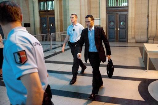 Jérôme Kerviel à sa sortie du palais de... (Photo AFP)