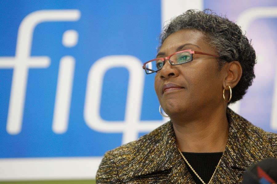 La présidente de laFédération interprofessionnelle de la santé... (Photo: Martin Chamberland, Archives La Presse)