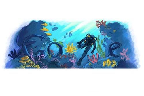 Le logo de Google en hommage à Jacques...