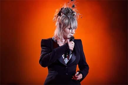 Diane Dufresne, en voix et en beauté, a... (Photo: Marco Campanozzi, La Presse)