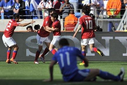 Avec ce gain de 2-0 sur la Grèce,... (Photo: Aris Messinis, AFP)