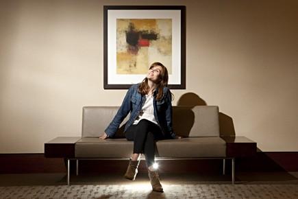 Emmanuelle Seigner admet avoir une personnalité insolente. «J'aime... (Photo François Roy, La Presse)