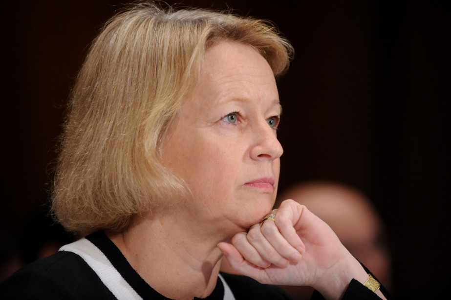 Mary Schapiro, directrice de la SEC, l'autorité des... (Photo: AFP)