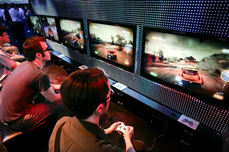 L'industrie québécoise du jeu vidéo crée un deuxième... (Photo archives Bloomberg)