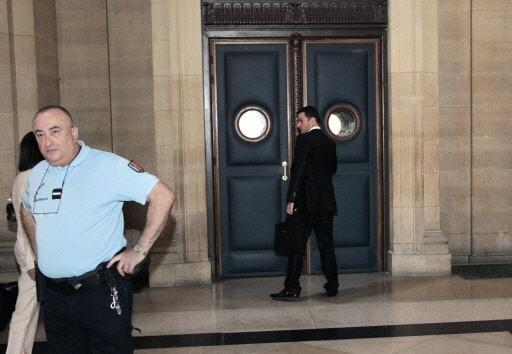 Jérôme Kerviel arrive au palais de justice de... (Photo AFP)