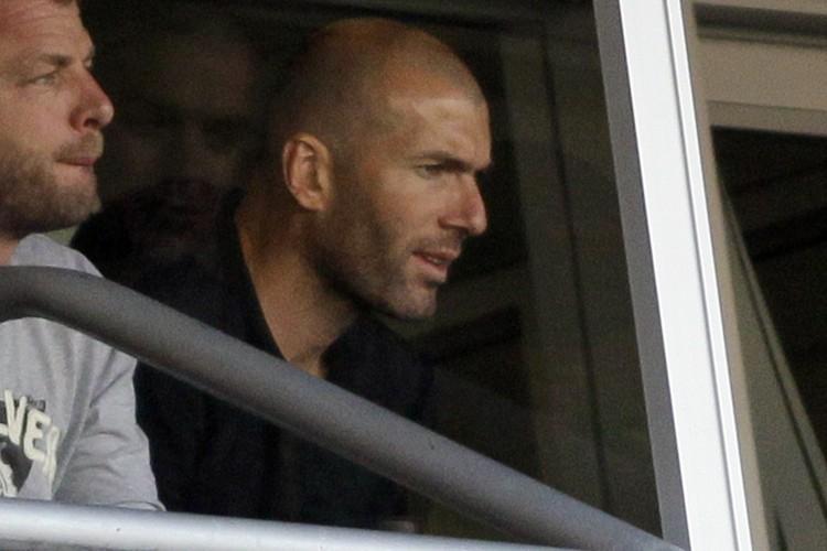 Zinédine Zidane... (Photo: AP)
