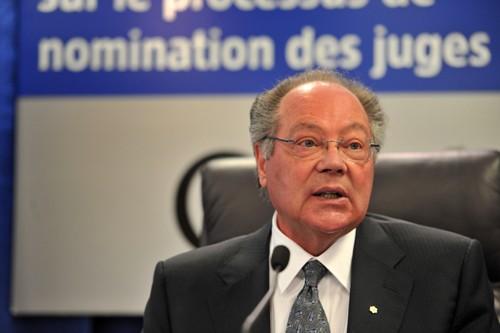 L'ancien juge de la Cour suprême du Canada,... (Photo: Patrice Laroche, Le Soleil)