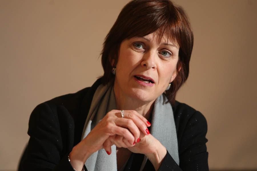 Heather Munroe-Blum, principale et vice-chancelière de l'Université McGill,... (Photo: Martin Chamberland, Archives La Presse)