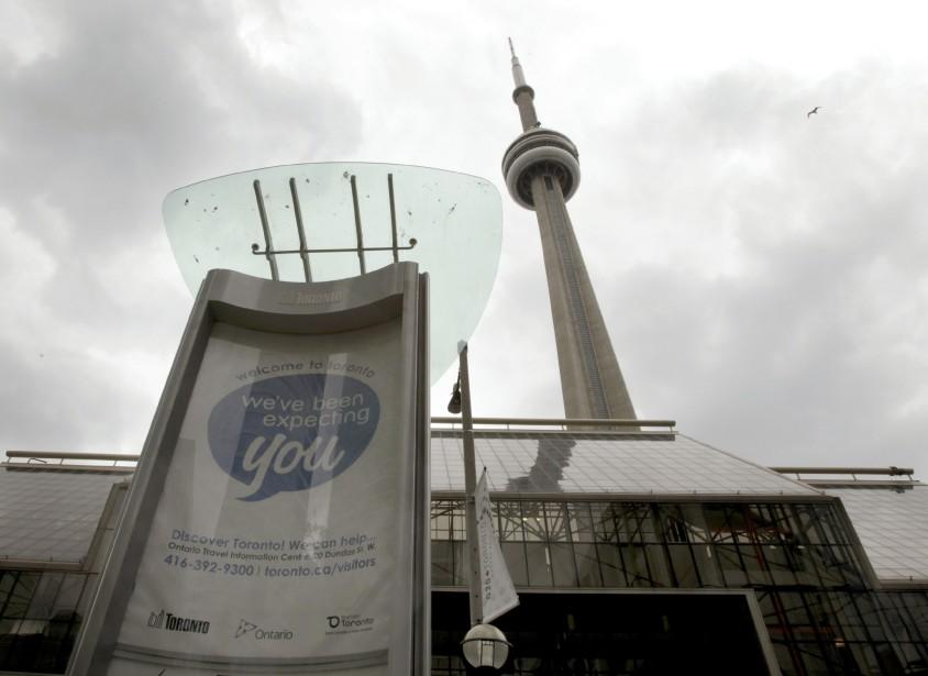Le Palais des congrès du Toronto métropolitain (avec... (PHOTO: MIKE CASSESE, REUTERS)