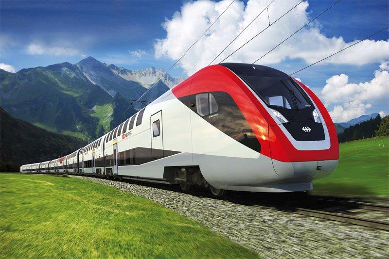 Un train Twindexx de Bombardier.... (Photo fournie par Bombardier)