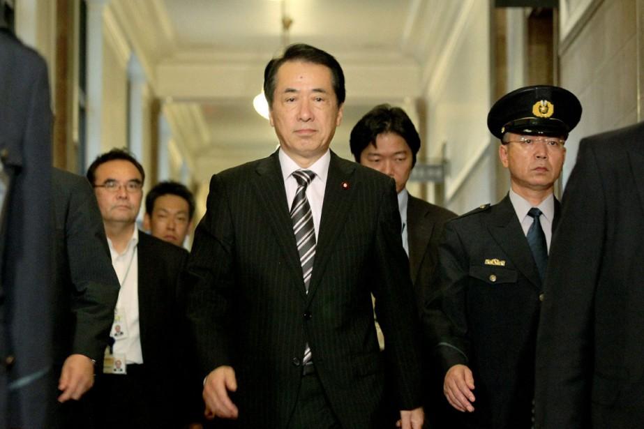 Le premier ministre japonais Natao Kan.... (Photo: AFP)